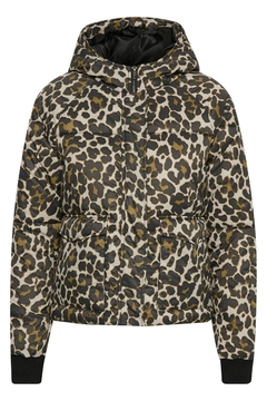 Soaked in Luxury Leopard Print Jacket - Product List Image