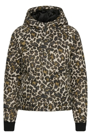 Soaked in Luxury Leopard Print Jacket - Product Mini Image