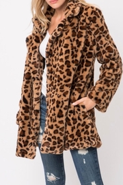 Love Tree Leopard Print Jacket - Product Mini Image
