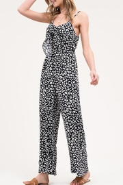 Blu Pepper Leopard Print Jumpsuit - Product Mini Image