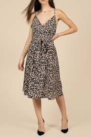 essue Leopard Print Midi Dress - Product Mini Image