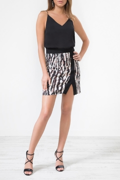 Urban Touch Leopard Print Miniskirt - Product List Image
