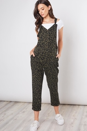 Mustard Seed Leopard Print Overall - Product Mini Image