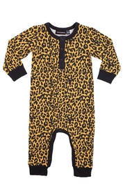 Rock Your Baby Leopard Print Playsuit - Front cropped