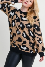 JODIFIL Leopard print pullover - Front cropped