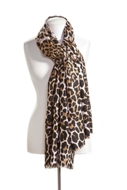 Giftcraft Inc.  Leopard Print Scarf - Product Mini Image