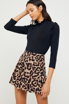 Shoptiques Product: Leopard Print Shorts
