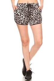 S&G Apparel Leopard Print Shorts - Product Mini Image
