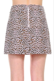 TCEC Leopard Print Skirt - Front full body
