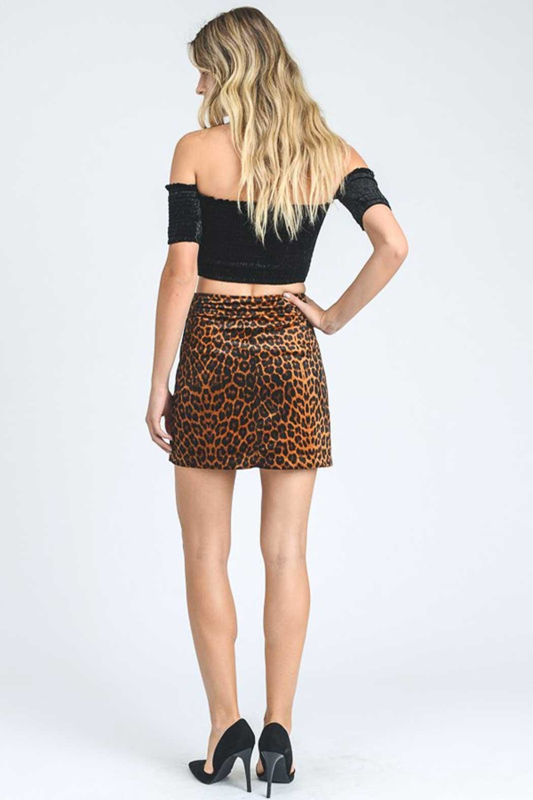 7c78b142f9669 storia Leopard Print Skirt from Alabama by Adrenaline — Shoptiques