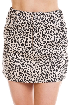 Shoptiques Product: Leopard Print Skirt