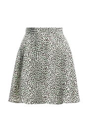 Renamed Clothing Leopard Print Skirt - Product Mini Image