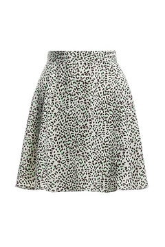 Renamed Clothing Leopard Print Skirt - Product List Image