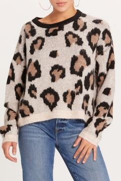 Shoptiques Product: Leopard Print Sweater