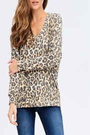 Miss Darlin Leopard Print Sweatshirt - Product Mini Image