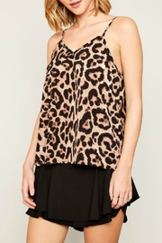 Hayden Leopard Print Tank - Front cropped