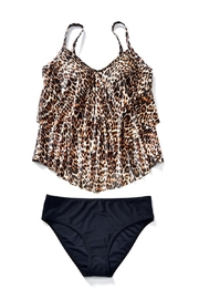 Giftcraft Inc.  Leopard Print Tankini - Side cropped