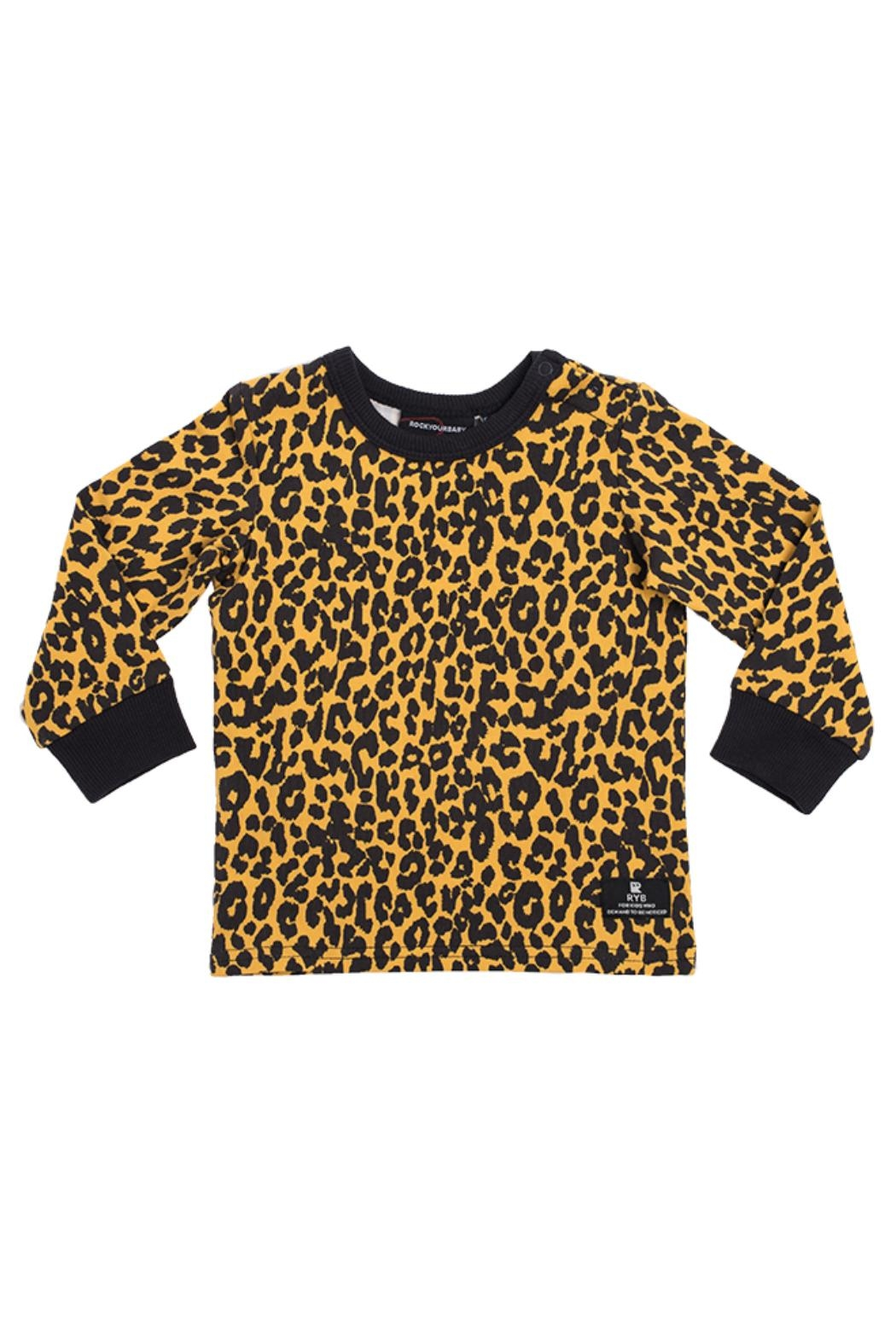 Rock Your Baby Leopard Print Top - Main Image