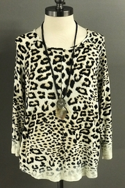 Multiples Leopard Print Top - Product Mini Image