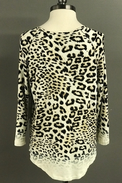 Multiples Leopard Print Top - Alternate List Image