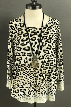 Multiples Leopard Print Top - Product List Image