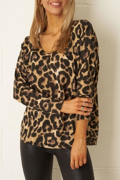 frontrow Leopard Print Top - Product List Image
