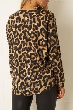 frontrow Leopard Print Top - Alternate List Image