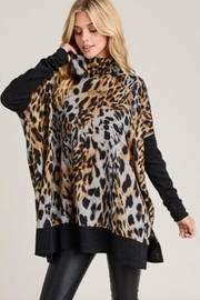 First Love Leopard Print Top - Product Mini Image