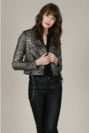 Molly Bracken Leopard Printed Jacket - Product Mini Image