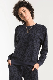 z supply Leopard Pullover - Product Mini Image