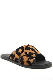 Qupid Leopard Sandlas - Product Mini Image