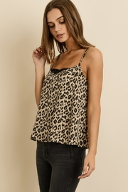 dress forum Leopard Satin Cami - Side cropped