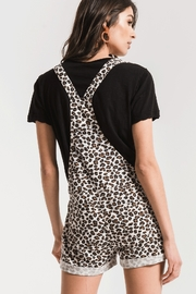 z supply Leopard Short Overall - Side cropped