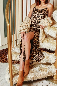 Hayden Los Angeles Leopard Slip Dress - Alternate List Image