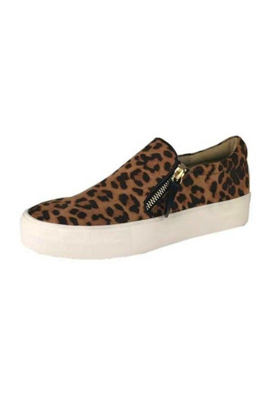 Not Rated Leopard Sneaker - Main Image