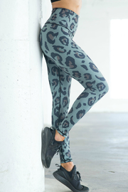 CHRLDR Leopard & Solid Reversible Leggings - Product Mini Image