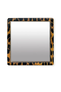 iDecoz Leopard Square Phone Mirror - Alternate List Image