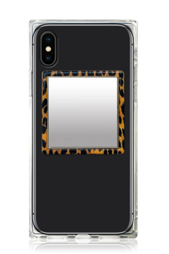iDecoz Leopard Square Phone Mirror - Product List Image