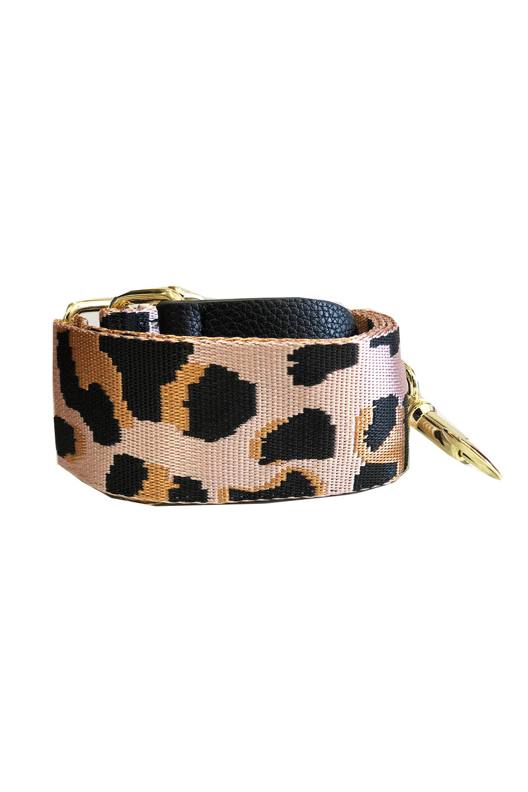 be clear handbags Leopard Strap - Front Cropped Image