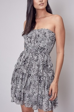 Do & Be Leopard Strapless Dress - Product List Image
