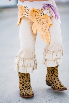 Shoptiques Product: Leopard Suede Cowgirl Boots