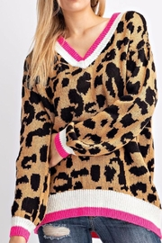 143 Story Leopard Sweater - Product Mini Image