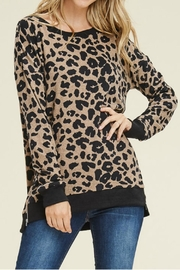 Staccato Leopard Sweater - Product Mini Image