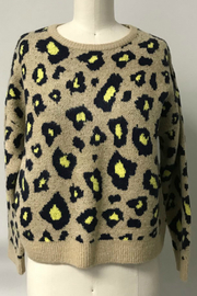 THML  Leopard sweater - Front cropped