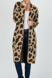 Modern Emporium Leopard Sweater Cardigan - Product Mini Image