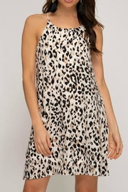She + Sky Leopard Swing Dress - Product Mini Image