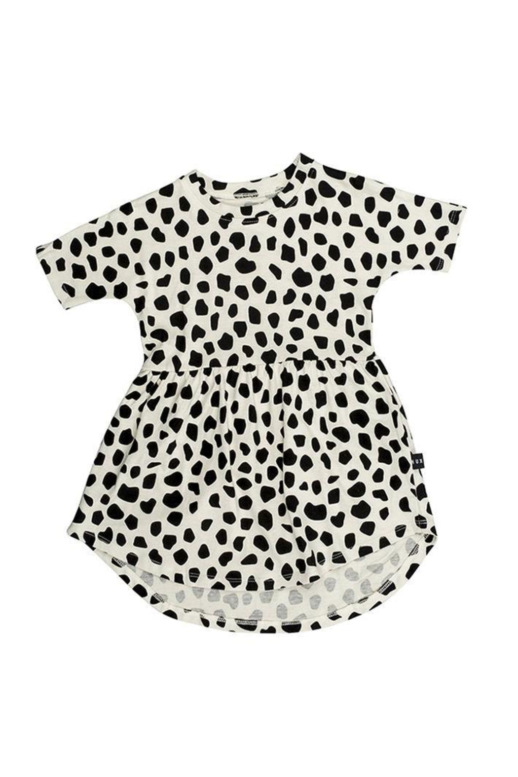 Huxbaby Leopard Swirl Dress - Front Cropped Image