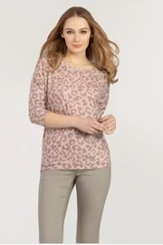 Tribal  Leopard Tie Back Top - Product Mini Image