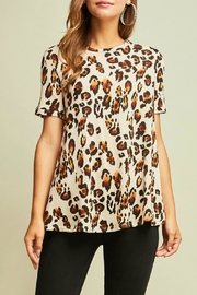 Entro Leopard Top - Product Mini Image