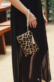 Klutch Handbags Leopard Tourist Wristlet - Product Mini Image